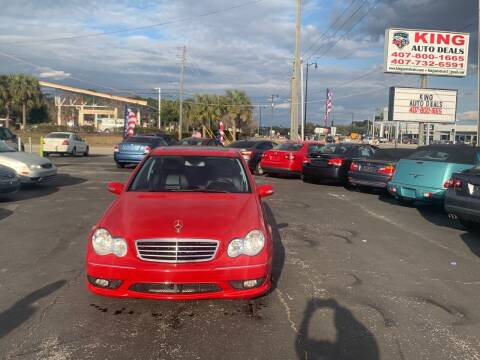 2007 Mercedes-Benz C-Class for sale at King Auto Deals in Longwood FL