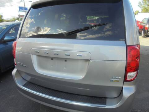 2014 Dodge Grand Caravan for sale at CYCLE SHACK CARS in Rome NY
