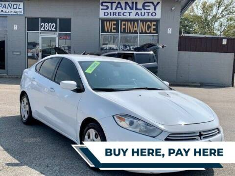 2016 Dodge Dart for sale at Stanley Automotive Finance Enterprise - STANLEY DIRECT AUTO in Mesquite TX