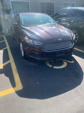 2013 Ford Fusion Hybrid for sale at P & M AUTO in Springfield VT