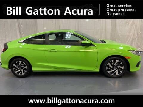 2017 Honda Civic for sale at Bill Gatton Used Cars - BILL GATTON ACURA MAZDA in Johnson City TN