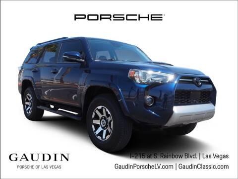 2020 Toyota 4Runner for sale at Gaudin Porsche in Las Vegas NV