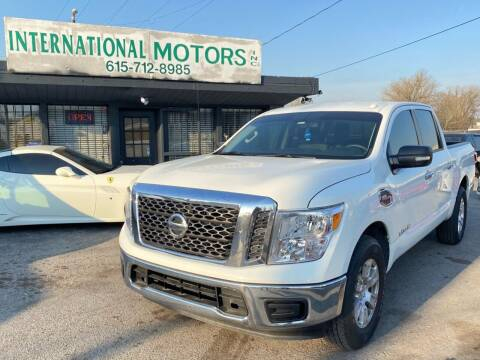 2017 Nissan Titan for sale at International Motors Inc. in Nashville TN