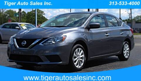 2018 Nissan Sentra for sale at TIGER AUTO SALES INC in Redford MI