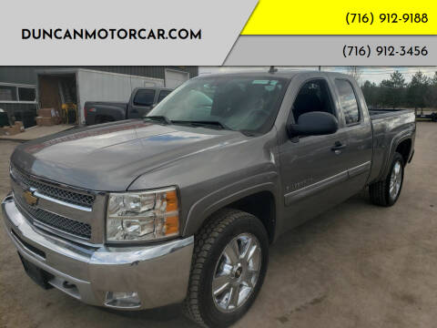 2012 Chevrolet Silverado 1500 for sale at DuncanMotorcar.com in Buffalo NY