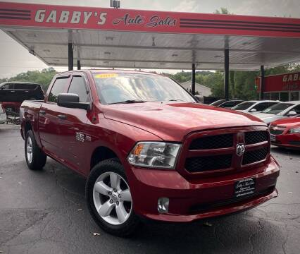 2014 RAM Ram Pickup 1500 for sale at GABBY'S AUTO SALES in Valparaiso IN