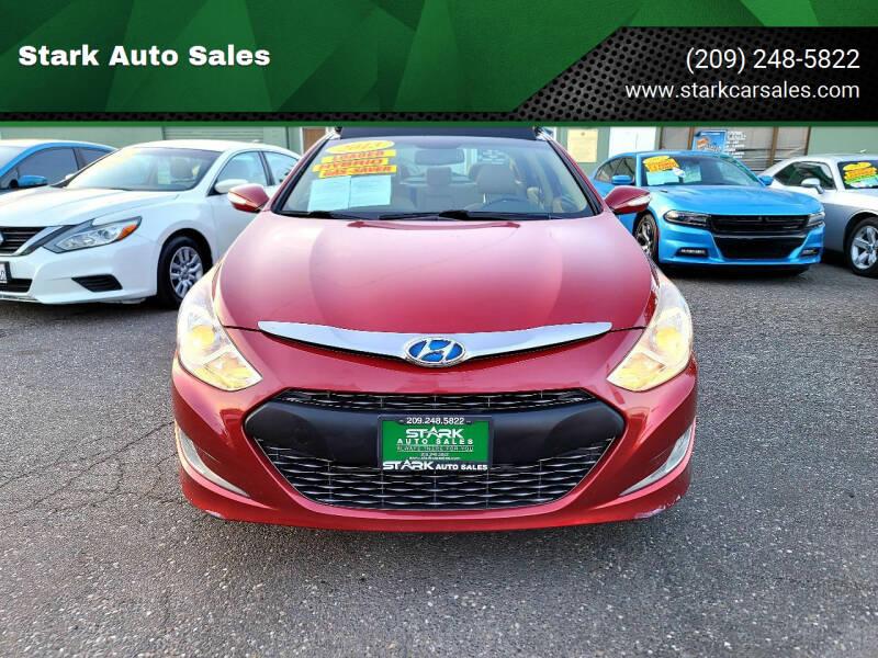 2013 Hyundai Sonata Hybrid for sale at Stark Auto Sales in Modesto CA