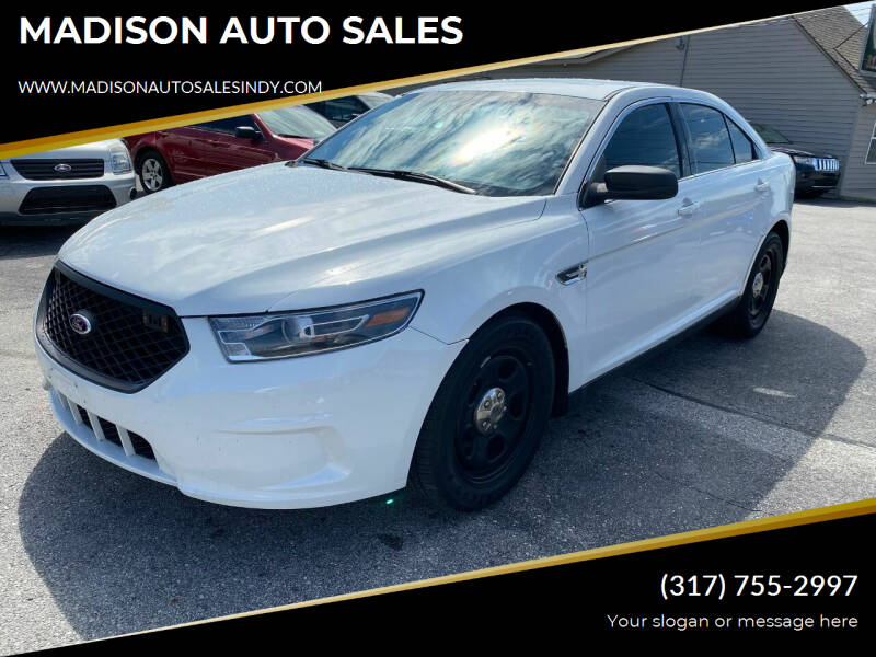 2014 Ford Taurus for sale at MADISON AUTO SALES in Indianapolis IN