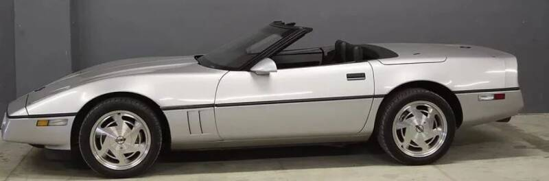 1988 Chevrolet Corvette for sale at McQueen Classics in Lewes DE