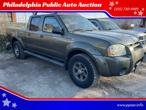 2003 Nissan Frontier for sale at Philadelphia Public Auto Auction in Philadelphia PA