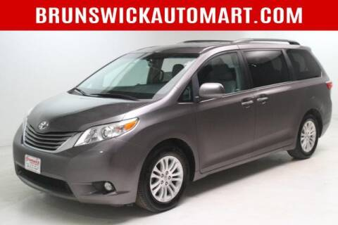 2015 Toyota Sienna for sale at Brunswick Auto Mart in Brunswick OH