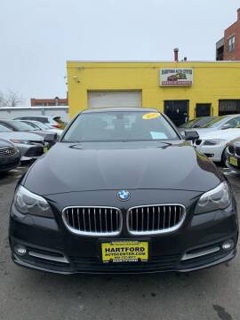 2015 BMW 5 Series for sale at Hartford Auto Center in Hartford CT