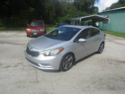 2015 Kia Forte for sale at S & T Motors in Hernando FL