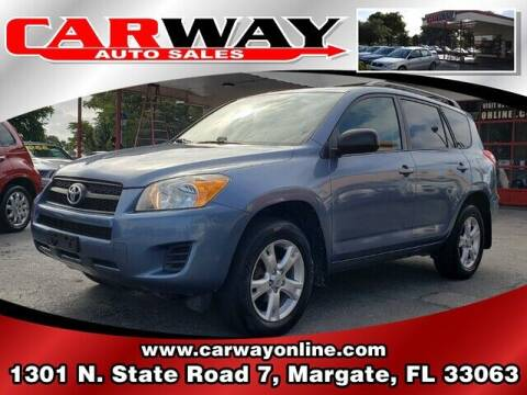 2011 Toyota RAV4 for sale at CARWAY Auto Sales in Margate FL