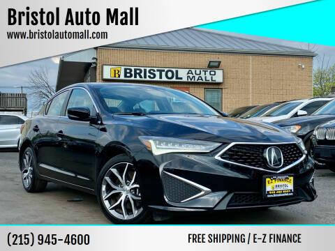 2019 Acura ILX for sale at Bristol Auto Mall in Levittown PA