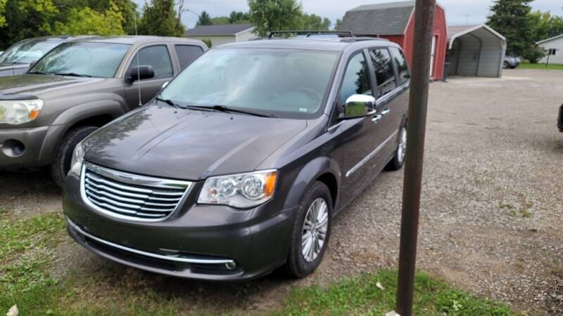 2016 Chrysler Town and Country for sale at Clare Auto Sales, Inc. in Clare MI