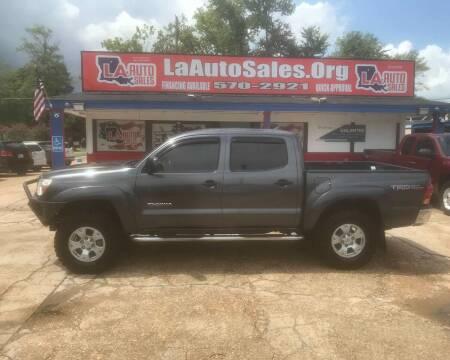 2014 Toyota Tacoma for sale at LA Auto Sales in Monroe LA