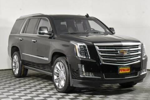 2018 Cadillac Escalade for sale at Chevrolet Buick GMC of Puyallup in Puyallup WA