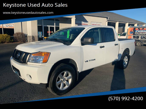 2014 Nissan Titan for sale at Keystone Used Auto Sales in Brodheadsville PA