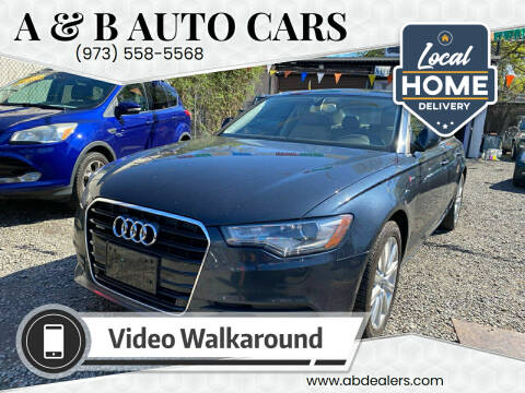 2014 Audi A6 for sale at A & B Auto Cars in Newark NJ
