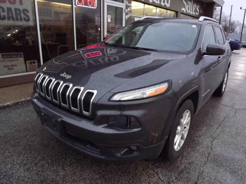 2015 Jeep Cherokee for sale at Arko Auto Sales in Eastlake OH