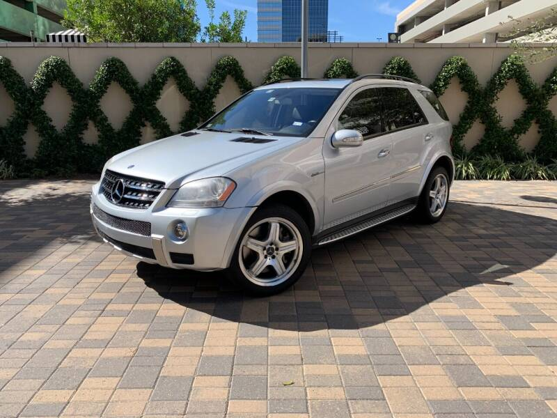 2007 Mercedes-Benz M-Class for sale at ROGERS MOTORCARS in Houston TX