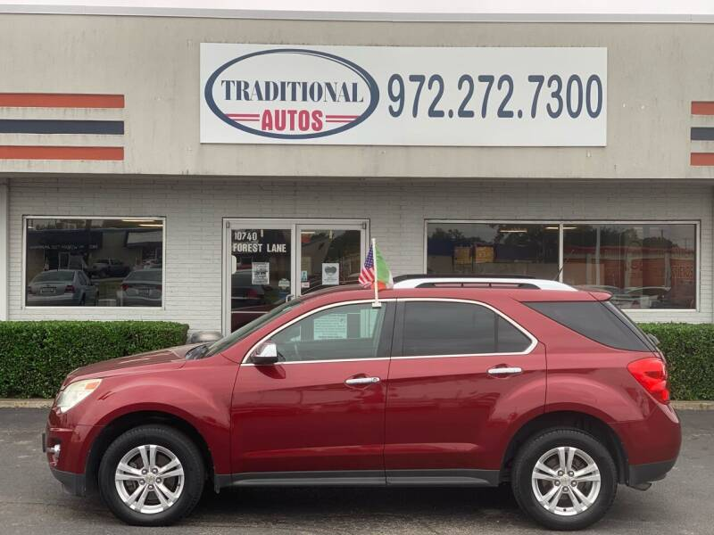 2011 Chevrolet Equinox for sale at Traditional Autos in Dallas TX