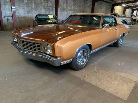 1972 Chevrolet Monte Carlo for sale at American Classic Car Sales in Sarasota FL