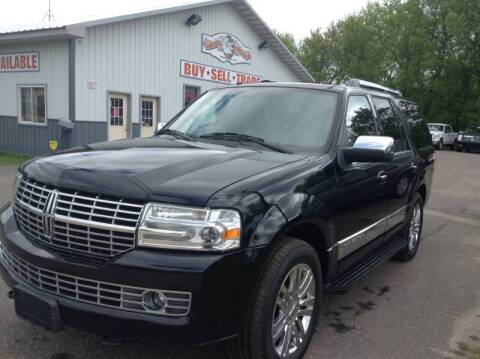 2009 Lincoln Navigator for sale at Steves Auto Sales in Cambridge MN
