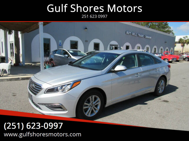 2015 Hyundai Sonata for sale at Gulf Shores Motors in Gulf Shores AL