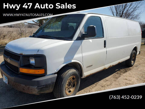 2004 Chevrolet Express Cargo for sale at Hwy 47 Auto Sales in Saint Francis MN
