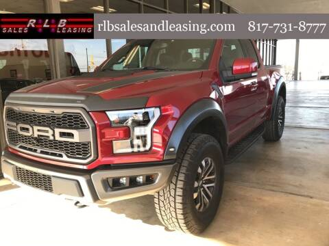 2019 Ford F-150 for sale at RLB Sales and Leasing in Fort Worth TX