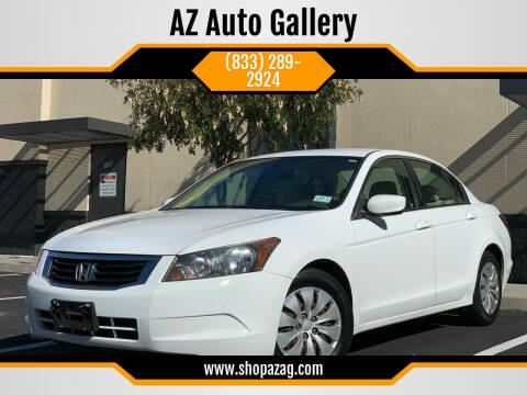 2008 Honda Accord for sale at AZ Auto Gallery in Mesa AZ