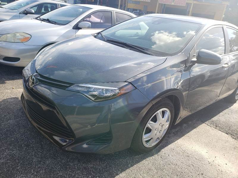 2017 Toyota Corolla for sale at 4 Guys Auto in Tampa FL