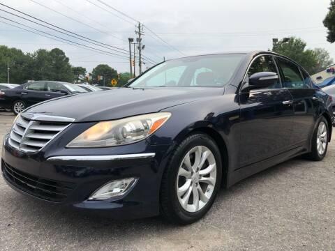 2012 Hyundai Genesis for sale at Capital Motors in Raleigh NC
