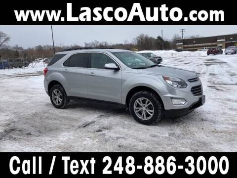 2016 Chevrolet Equinox for sale at Lasco of Waterford in Waterford MI