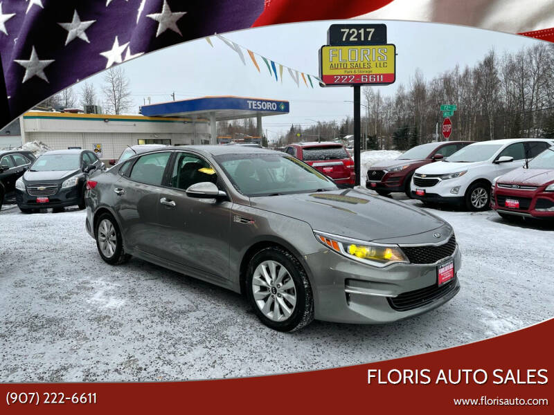 2016 Kia Optima for sale at FLORIS AUTO SALES in Anchorage AK