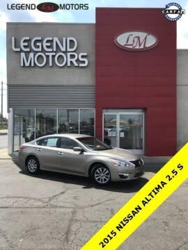 2015 Nissan Altima for sale at Legend Motors of Ferndale in Ferndale MI