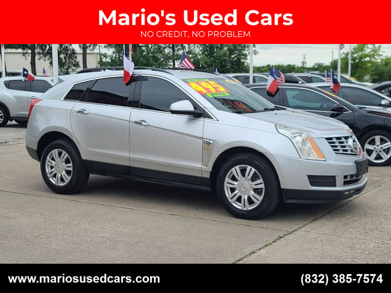 2013 Cadillac SRX for sale at Mario's Used Cars in Houston TX