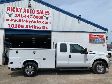 2015 Ford F-250 Super Duty for sale at Ricky Auto Sales in Houston TX