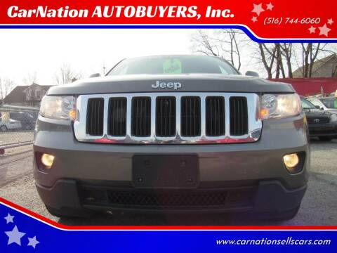 2012 Jeep Grand Cherokee for sale at CarNation AUTOBUYERS, Inc. in Rockville Centre NY