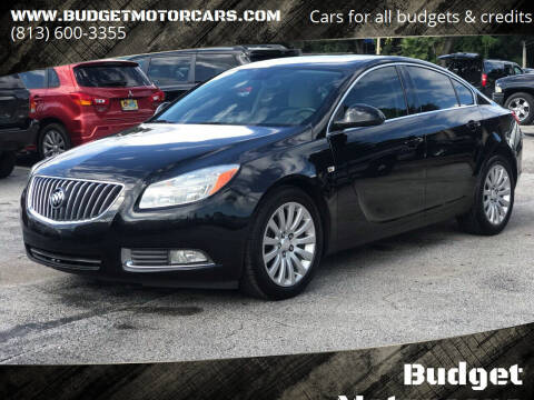 2011 Buick Regal for sale at Budget Motorcars in Tampa FL