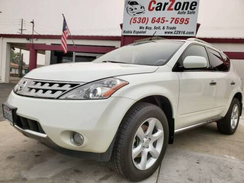 2007 Nissan Murano for sale at CarZone in Marysville CA
