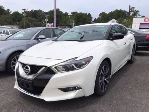 2016 Nissan Maxima for sale at Bay Motors Inc in Baltimore MD