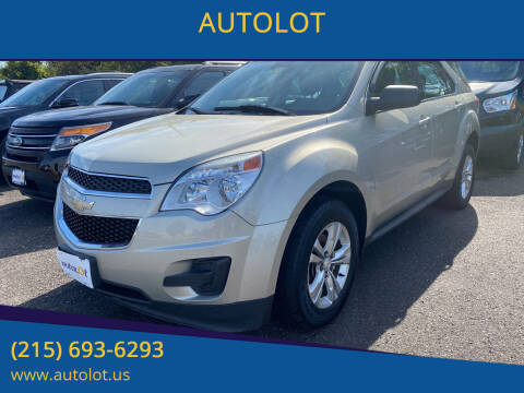 2015 Chevrolet Equinox for sale at AUTOLOT in Bristol PA
