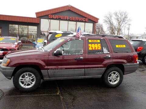 2000 Jeep Grand Cherokee for sale at Super Service Used Cars in Milwaukee WI