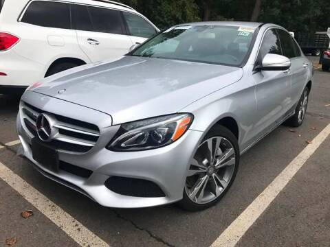 2015 Mercedes-Benz C-Class for sale at SILVER ARROW AUTO SALES CORPORATION in Newark NJ