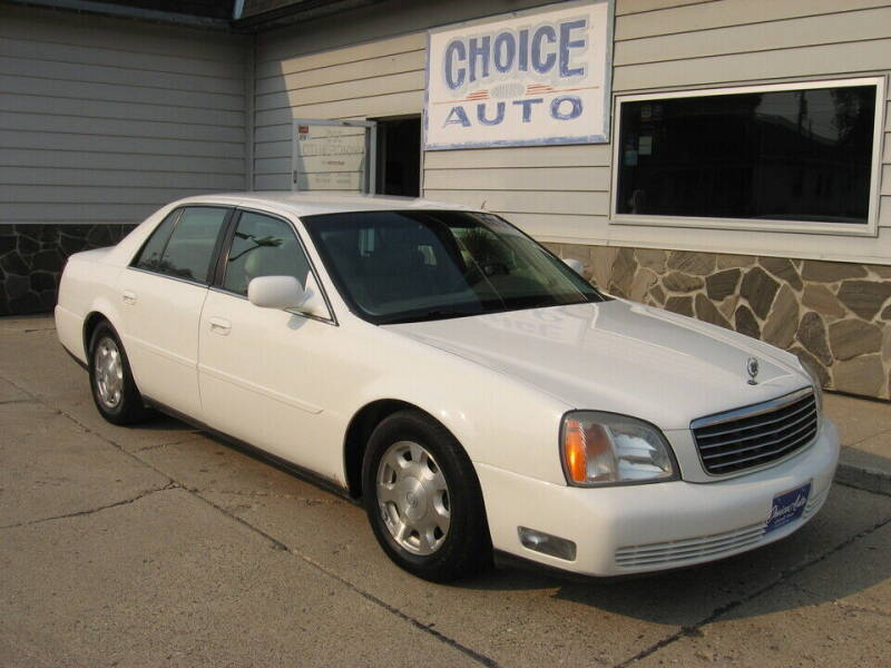 2002 Cadillac DeVille for sale at Choice Auto in Carroll IA