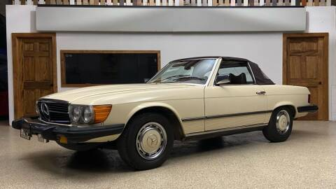 1977 Mercedes-Benz 450 SL for sale at EuroMotors LLC in Lee MA