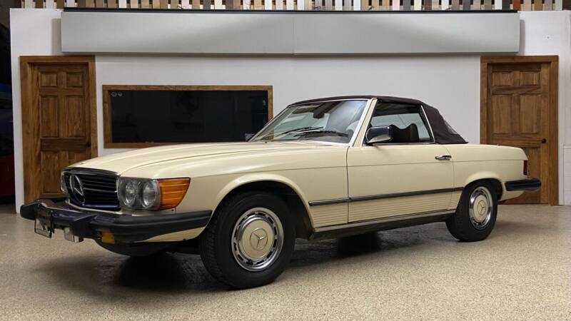 1977 Mercedes-Benz 450 SL for sale at EuroMotors LLC in Lee MA
